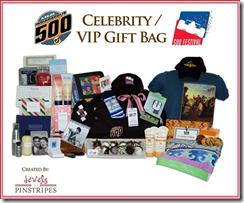 Indy 500 Celebrity Gift Bag
