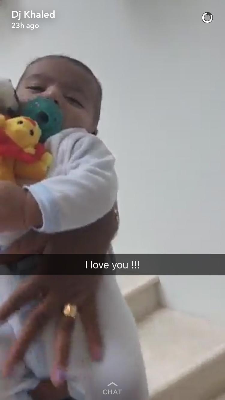 dj-khaled-son-Asahd-lion-wubbanub-snapchat